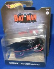 DC UNIVERSE COMICS COLLECTOR HOT WHEELS BATMAN 1940'S BATMOBILE, NEW