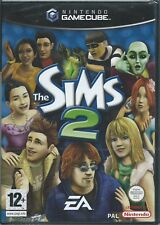 FACTORY SEALED THE SIMS 2 GAMECUBE UK PAL MINT WITH TEAR STRIP