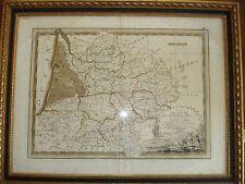 CARTE GIRONDE GASCOGNE QUERCY PYRENEES 1797