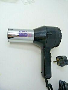 Clairol Big Shot Hair Dryer Twin Speed Heat Settings Adjustable