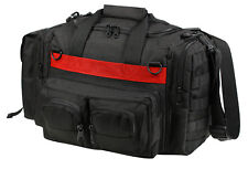 FD Fire EMS Thin Red Line Range Bag Concealed Carry CCW Pack Black Rothco 2751