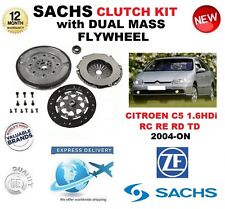 FOR CITROEN C5 RC RE RD TD 1.6 HDi 109BHP CLUTCH KIT 2004-ON w FLYWHEEL & BOLTS