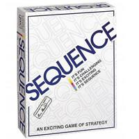 Original Sequence Game with Folding Board, Cards and Chips