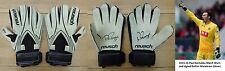 2015-16 Paul Rachubka Match Worn and Signed Bolton Goalkeeper Gloves (10208)