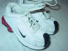 2010 Nike Shox White/Red/Black Toddler Shoes! Size 8C
