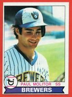 1979 Topps #24 Paul Molitor NEAR MINT+ HOF Milwaukee Brewers FREE SHIPPING