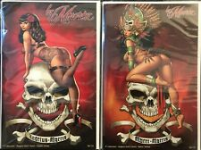 La Muerta Naughty Skull n Bones 2-Book Set
