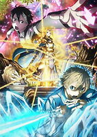 SWORD ART ONLINE: ALICIZATION-8-JAPAN BLU-RAY+CD+BOOK Ltd/Ed T48 sd