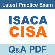 ISACA CISA Real Exam Questions & Answers - PDF