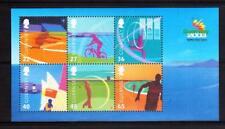 GUERNSEY 2003 Island Games min sheet MUH