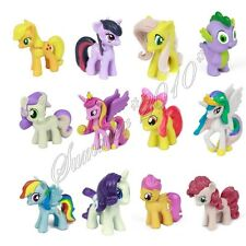 12x SET My Little Pony Mini Figures Character Action Doll Toy Gift Figurines Lot