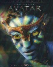 Avatar 3D (Blu-Ray 3D/2D + DVD) Slipcase Senza Ologramma in copertina