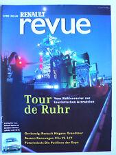 Prospekt / Zeitschrift Renault Revue 2.1999 - Megane, Clio Sport V6 24V, Espace