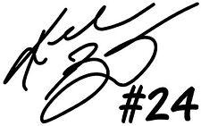 KOBE BRYANT #24 LA Lakers NBA Basketball Vinyl Decal Sticker Bumper Car Black