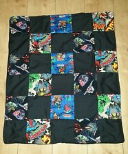 **REDUCED TO CLEAR** MARVEL HEROS PATCHWORK BLANKET