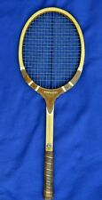 Vintage Tad Davis Imperial Tennis Racquet, Victor Sports Cover,Cross Court Press