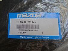 Mazda Black Carpet Mat Floor Mat Set MX5 RHD 9/2005 PART NE65-V0-320