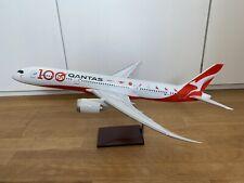Flugzeugmodell 1:100 Qantas Boeing 787-9 VH-ZNJ 100th livery rare Premium Models
