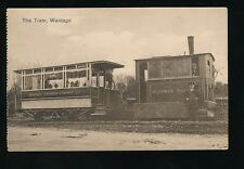 Berkshire Berks WANTAGE Steam Tram used 1940s PPC