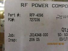 Rfp 4096 Rf Power Components Rf Power Module Brand New