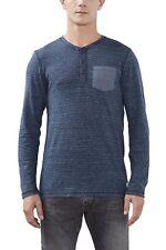 edc by Esprit Men's Long Sleeve Top Xlarge BNWT Blue 106CC2K008