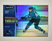 2020-21 UD Synergy Constant Threats #CT-19 Tomas Hertl - San Jose Sharks