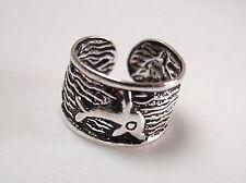 Dolphins Ear Cuff Earring 925 Sterling Silver Corona Sun Jewelry Earcuff