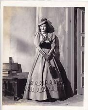 ADELE MARA Period Costume Gown Original Vintage 1942 LIPPMAN Portrait Photo