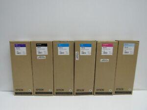 LOT OF 6! GENUINE EPSON T804D/T8041/T8042/T8043/T8045 INK CARTRIDGE