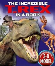 The Incredible T. Rex in a Book (Incredible in a Book) - New Book Claire Hawcock