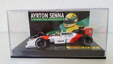 Minichamps 1:43 A. Senna Collection ed.43 nr 01 McLaren MP 4/4 HONDA 1988