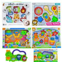 Baby Activity Toys and Rattles Sets for Girl & Boy 0M+ Xmas Gift Set Christmas