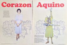 Corazon Aquino, Magazine Paper Doll, 1992, International Doll World