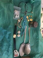 Piece Good For Craft And Other Items Junk Drawer Lot~ Misc. Stuff Misc Jewelry