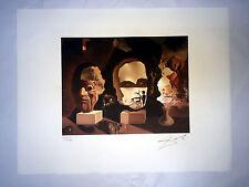 Salvador Dali Litografia 50 x 65 Bfk Rives Timbro a secco Firmata a Matita D185