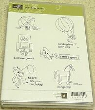 Stampin' Up! Clear Mount Stamp Hostess Set Ain't Love Grand (set of 6) BNIB