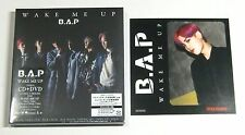 B.A.P WAKE ME UP Type-A Japan CD+DVD+Another jacket ZELO