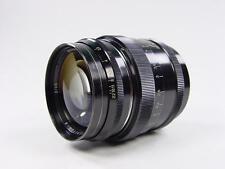 Black Rangefinder 85mm f/2 JUPITER-9 Zorki Leica LTM39 s/n 6807748. Sonnar USSR