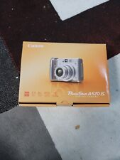Canon PowerShot A570 IS 7.1MP Digital Camera with 4x Optical Zoom Tested Works