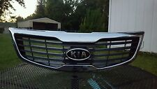 KIA SPORTAGE 2011-2015 FRONT OEM GRILLE WITH EMBLEM  PART #86352-3W000. USED