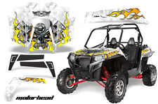 AMR Racing Polaris RZR 900XP Sticker Graphic Kit Decal UTV Parts 11-14 MOTOHD W