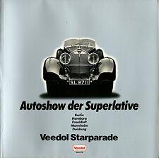 1982 AUTOSHOW DER SUPERLATIVE VEEDOL STARPARADE MERCEDES BENZ SS TALBOT LAGO
