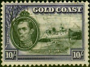 Gold Coast 1940 10s Black & Violet SG132 Fine Used