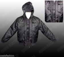 Manteaux, vestes et tenues de neige noir avec capuche pour garçon de 14 ans