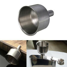 Mini Stainless Steel Bar Wine Flask Funnel Small Mouth Funnels for Filling Hip