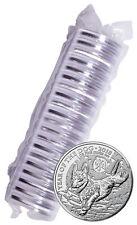 Roll of 20 -2018 Great Britain Year Dog 1 oz Silver Lunar £2 BU In Caps SKU49817