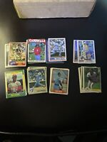 Rookie Baseball Card Lot Assorted (Some Errors) From The 1980s Fleer Topps Optic