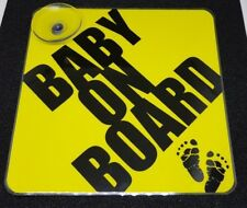 Baby on Board High Quality Removable Sign Baby Feet Perfect Exposure