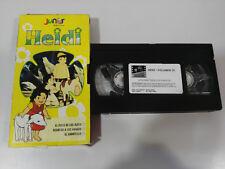 HEIDI SERIE TV 3 CAPITOLI VOLUME 10 CASSETTA CARTONE VHS NASTRO TAPE