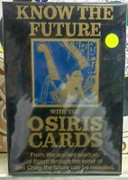 vintage Card Game know the future with the Osiris cards  by Invicta Dated 1980
